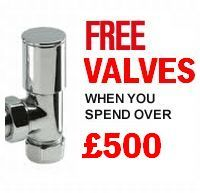 Designer Radiators with Free Valves