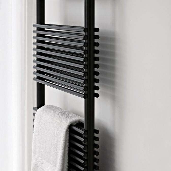 Quinn Heated Towel Rails: Tubes Basics 14 Towel