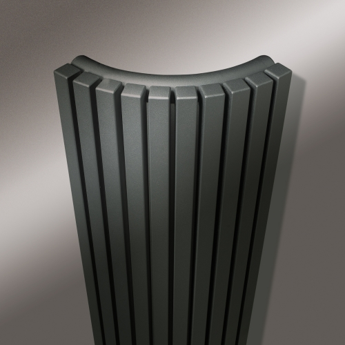 Vasco carre quarter round vasco designer radiators for Household radiator design