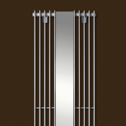 Vasco tulipa vertical mirror vasco designer radiators for Mirror radiator